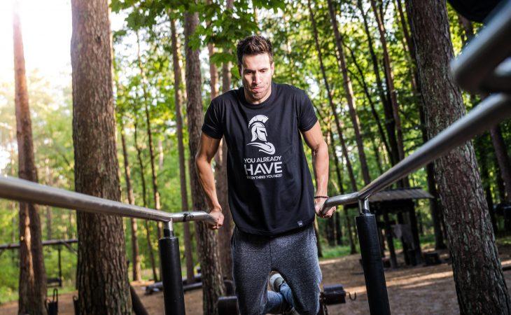 Fräscha träningskläder Image